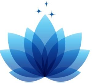 Mavi lotus logo